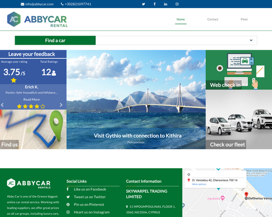 ABBYCAR Car Rental Logo