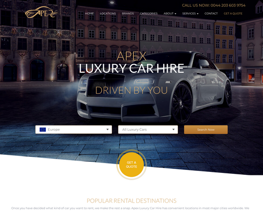 Apex Luxury Car Hire