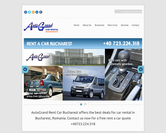 Car Rental Bucharest